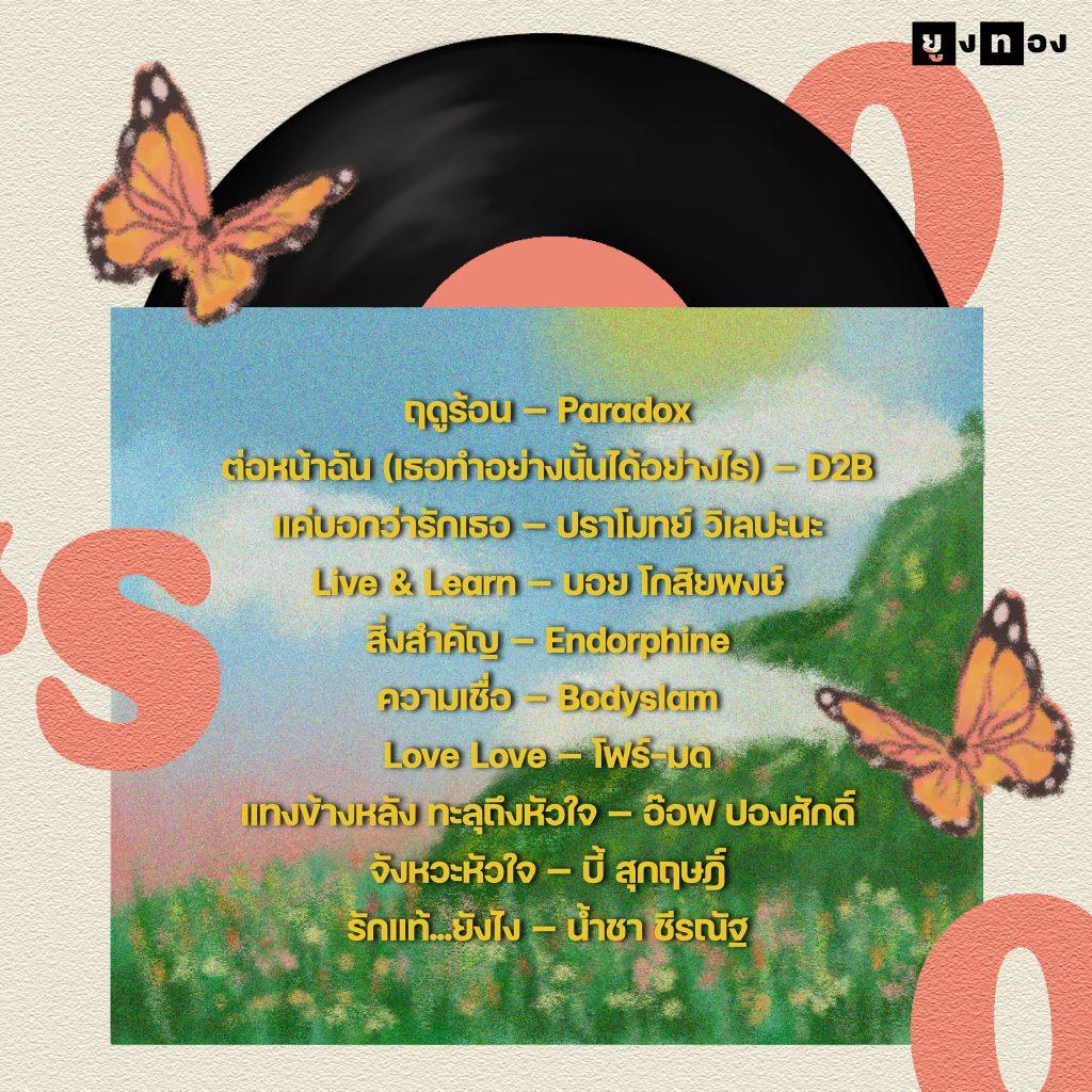 เพลงฮิต 10 ลำดับจากยุค 00s
